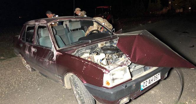 Otomobil takla attı: 1 ölü...