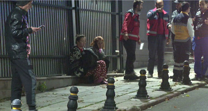 Açık bırakılan yangın söndürme tüpü yurdu birbirine kattı