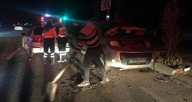 Niğde'de trafik kazası: 7 yaralı...