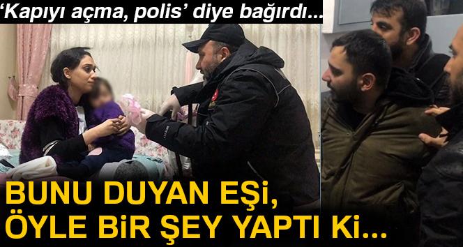 İstanbul'da torbacının eşi eroinleri oyuncak ayıyla pencereden attı