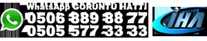WhatsApp Görüntü Hattı 0506 889 88 77 - 0505 577 33 33