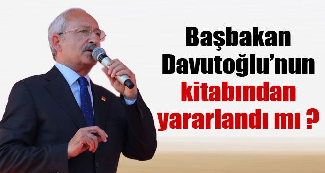 Başbakan Davutoğlu'nun kitabından yararlandı mı?