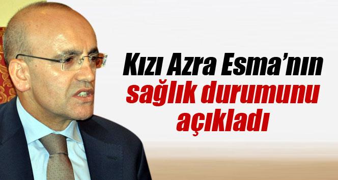 Bakan Şimşek kızı Azra Esma'nın sağlık durumunu açıkladı