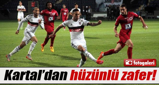 Beşiktaş Gençlerbirliği'ni 2-1 mağlup etti