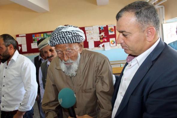 İşte Türkiye'nin en yaşlı seçmeni Mehmet Esen!