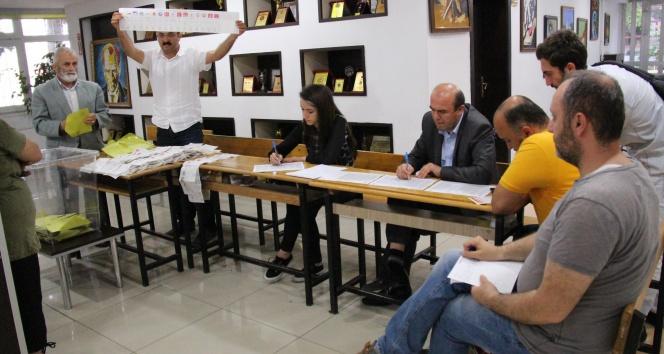 Samsunda oy sayma işlemi devam ediyor