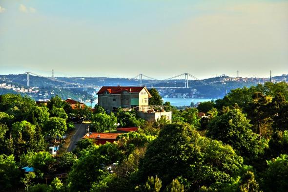 Yeşil ve maviden İstanbul'a açılan pencere