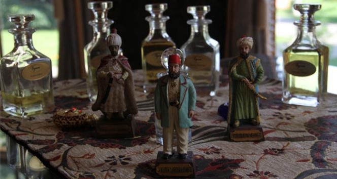 Osmanlı Padişahlarının kokuları gün yüzüne çıktı