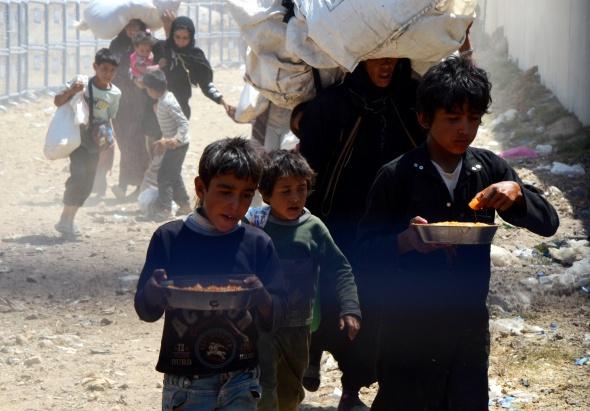 Türkiye'ye 150 Suriyeli daha geçiş yaptı
