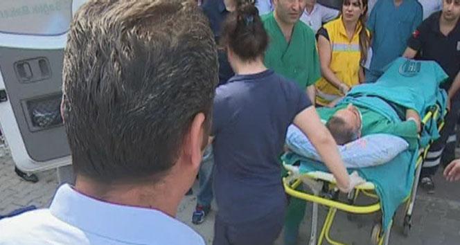 Hemşire hastanede müdürün boğazını kesti