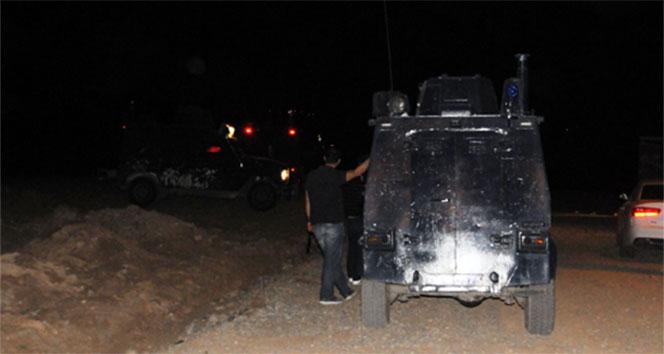 Sınır karakolunda hareketli gece! Cizre,silahlı saldırı,taciz ateşi
