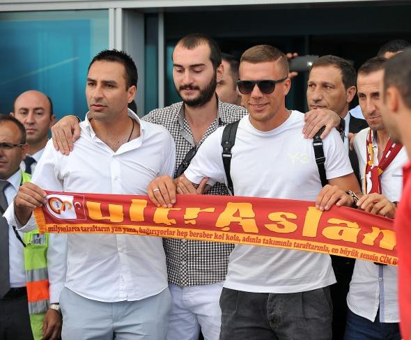 Podolski İstanbul'da