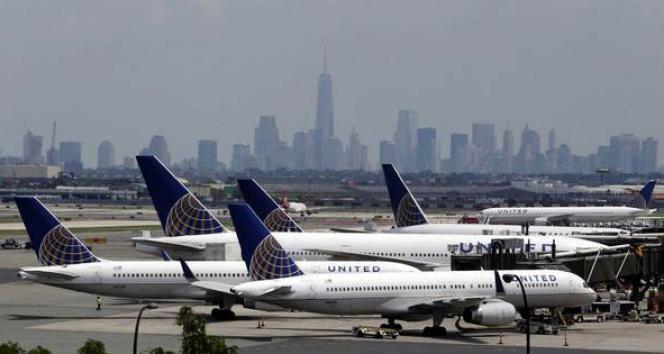 ABD devi 3 bin 500 uçuşunu iptal ettiABD,uçuşlar iptal,United Airlines