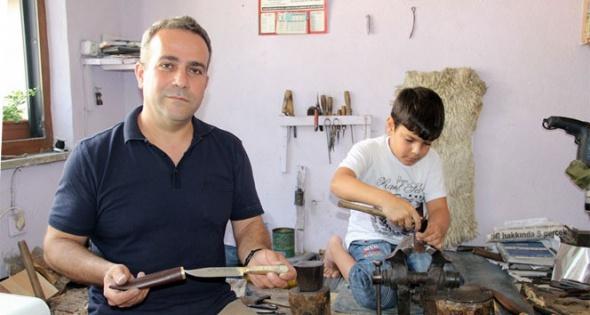 Babadan oğula 300 yıllık ustalık devam ediyor