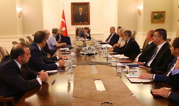 'Özel güvenlik toplantısı' sona erdi