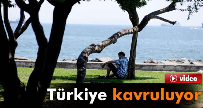 Sıcak havalar Türkiye'yi etkisi altına aldı