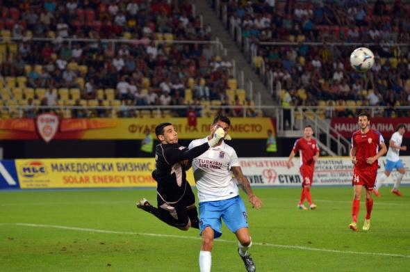 Rabotnicki 1 - 0 Trabzonspor