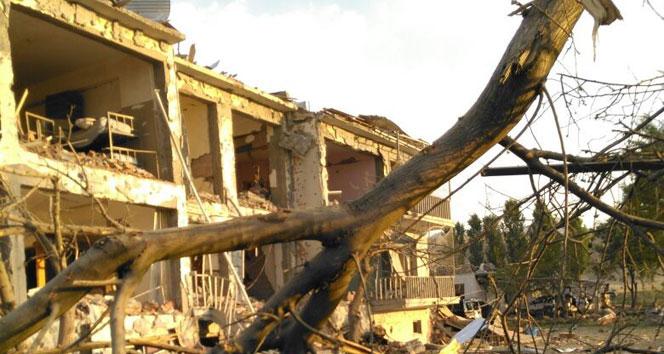 Hain saldırının etkisi gün ağarınca ortaya çıktıağrı,Doğubayazıt,karakola saldırı