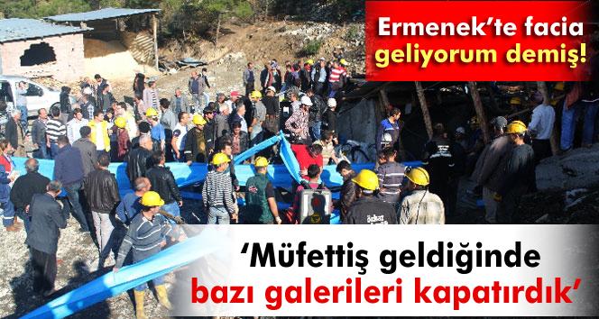 Maden faciasında tanıklar dinlendi