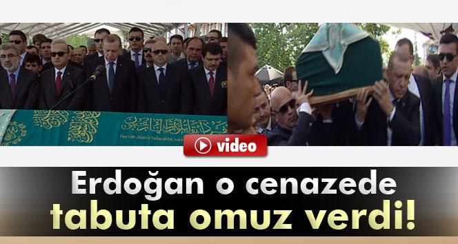 Tulu Gümüştekin'in cenazesine Erdoğan da katıldı