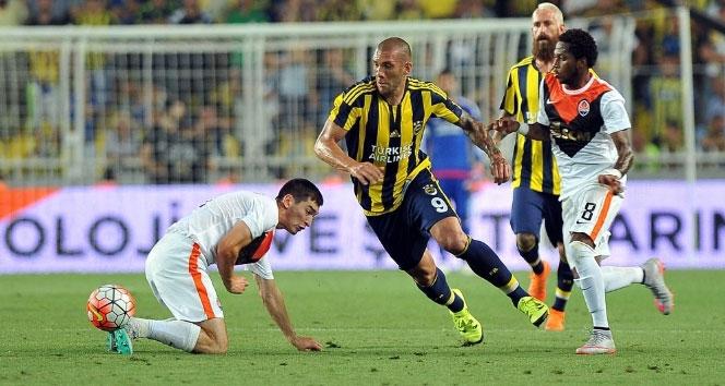 Fenerbahçe tur için sahaya çıkıyorfenerbahçe,Şampiyonlar Ligi,Shakhtar Donetsk