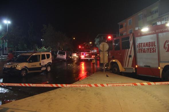 Sultanbeyli'de karakola bombalı saldırı