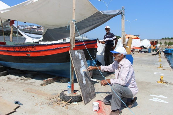 Balıkçıların tatlı telaşı