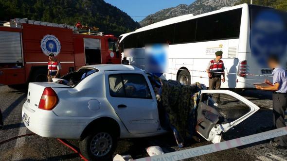 Yine otobüs kazası: 5 ölü