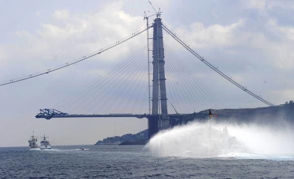 3. köprünün son hali böyle görüntülendi