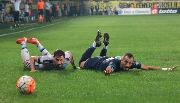 Çaykur Rizespor-Fenerbahçe maçından kareler