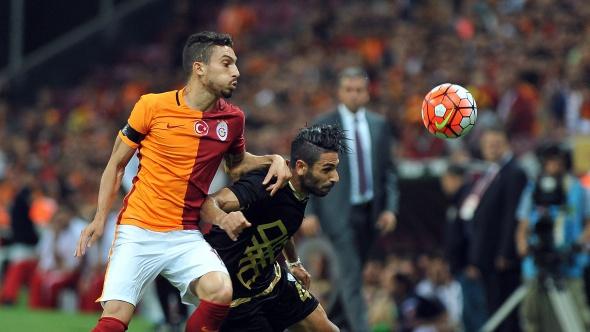 Galatasaray-Osmanlıspor maçından kareler