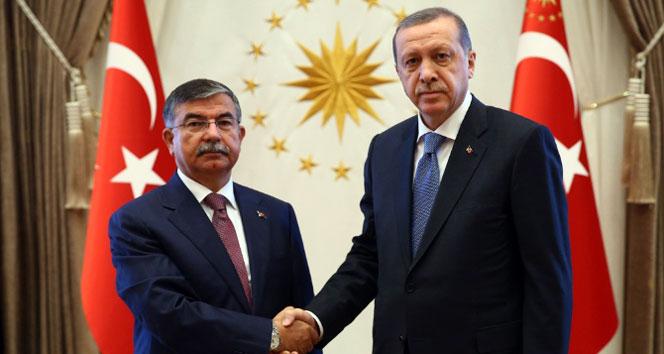 Türkiye'nin beklediği görüşme başladıİsmet Yılmaz,recep tayyip erdoğan
