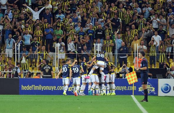 Fenerbahçe Atromitos maçından kareler