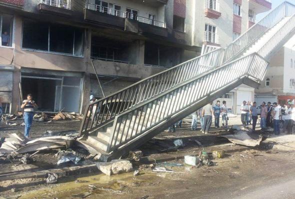 Bombalı saldırının tahribatı gün ağarınca ortaya çıktı