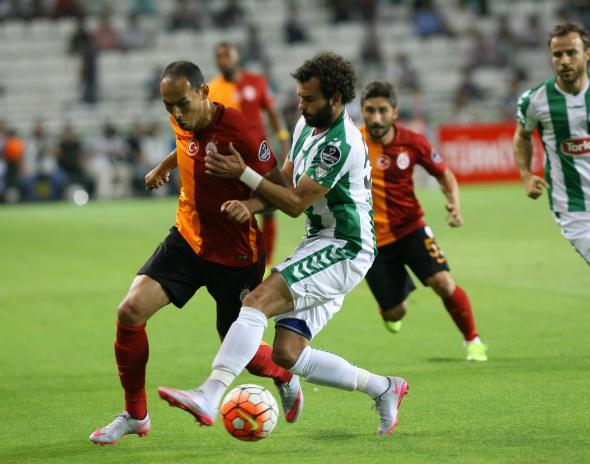 Torku Konyaspor-Galatasaray maçından kareler
