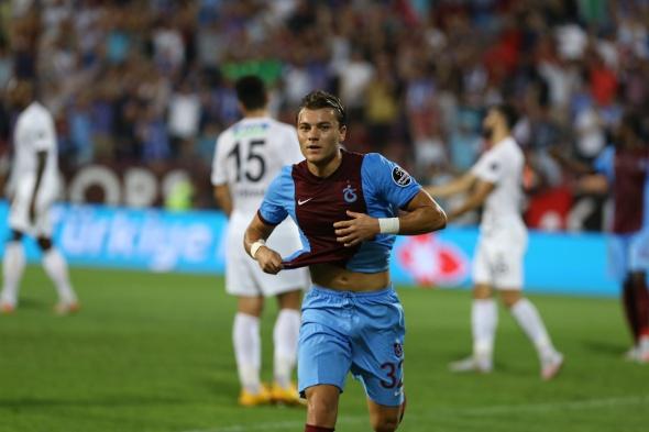 Trabzonspor-Akhisar Belediyespor maçından kareler