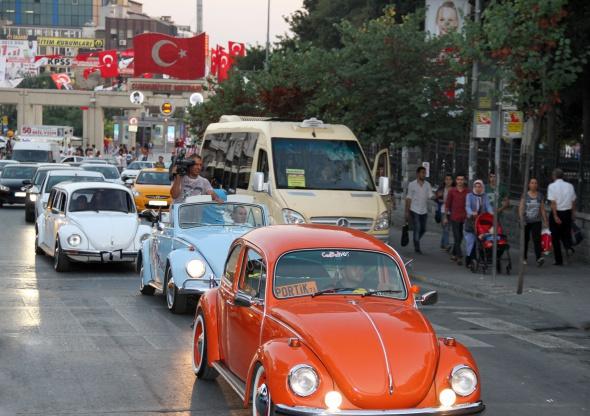 En cici 'Vosvos'lar Bakırköy'de buluştu