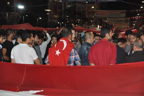 Dağlıca'daki saldırı tüm yurdu sokağa döktü