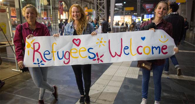 Binlerce sığınmacı Almanya hayaline kavuştualmanya,hayal,sığınmacı