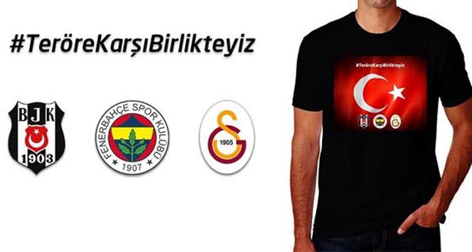 Beşiktaş, Galatasaray ve Fenerbahçe'den ortak karar!beşiktaş,fenerbahçe,galatasaray,terör