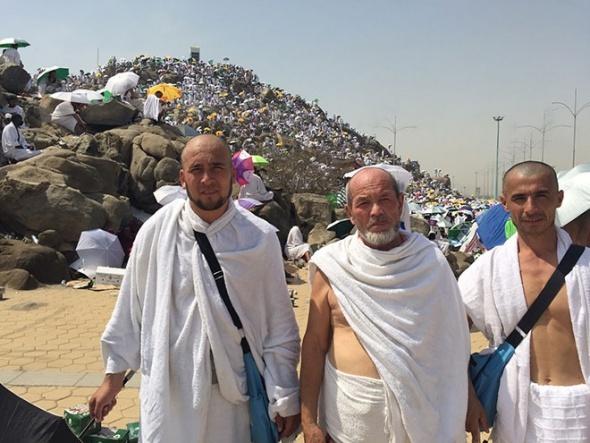 Arafat'ta 50 derecede vakfe