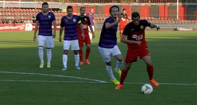 Eskişehirspor, hazırlık maçında galip