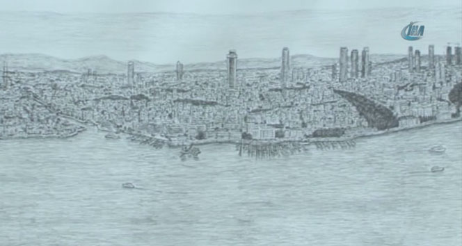 Dahi bellek İstanbulu resmetti