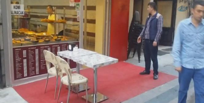 Beyoğlu'nda masa sandalye denetimi