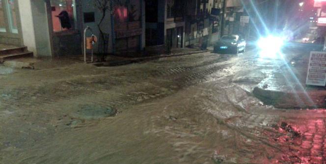 Tekirdağ'da şiddetli sağanak yağış