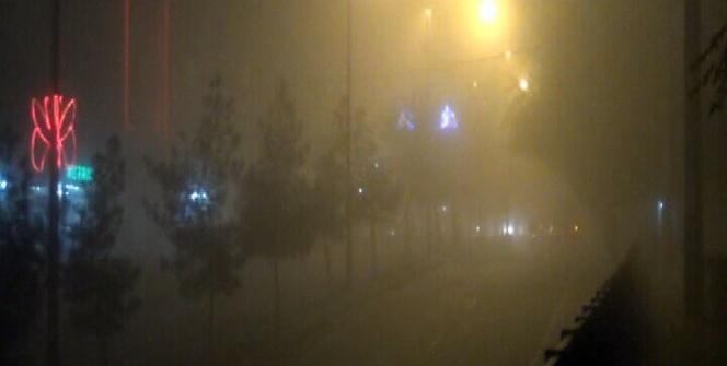Diyarbakır sise gömüldü