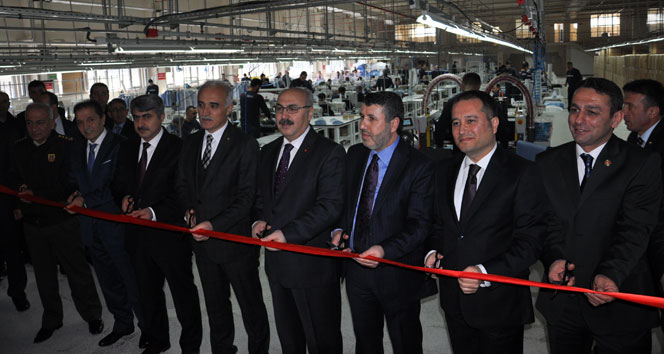Dünyada ilk olma özelliğine sahip fabrikayı MÜSİAD Genel Başkanı Olpak açtı