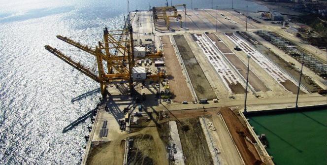 Türkiye'nin en büyük konteyner limanı Asyaport'ta sona gelindi