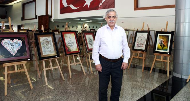 Türkiye'nin en büyük kişisel hat sergisihat sergisi