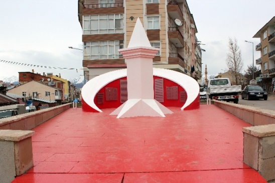 Zahit Üsteğmen Anıtının Bakım Ve Onarımı Yapıldı